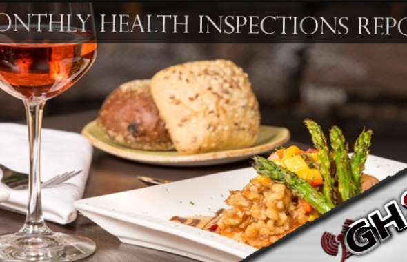 January Health Inspections Report Released.