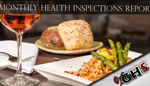 June 2019 Health Inspections