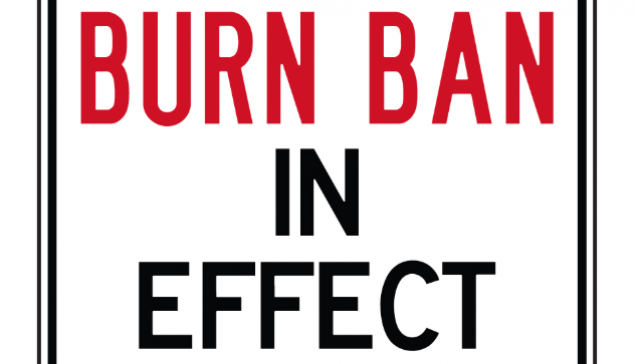 Countywide Burn Ban In Effect July 1st, 2018