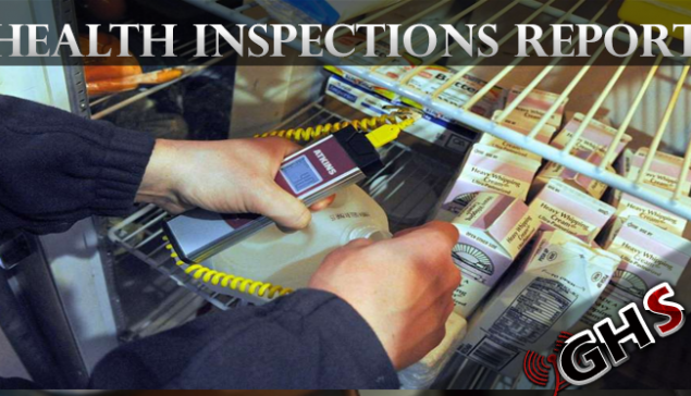 November 2019 Health Inspections Report Released