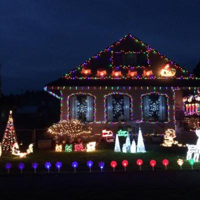 Outdoor Christmas Lights Poll 2017 Best Of